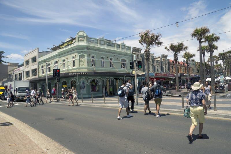 VIRILE, L'AUSTRALIA 16 DICEMBRE: Passaggio pedonale all'dalla b immagine stock libera da diritti