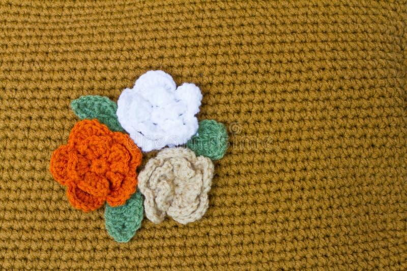 virkade blommor royaltyfri fotografi