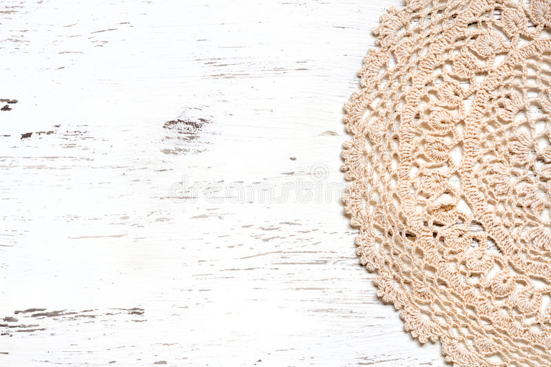 Virkningdoilygräns över sjaskigt chic trä fotografering för bildbyråer