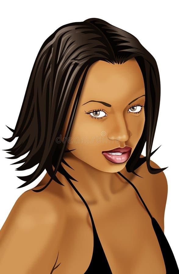 Virtual Beauty - 1 royalty free stock photo