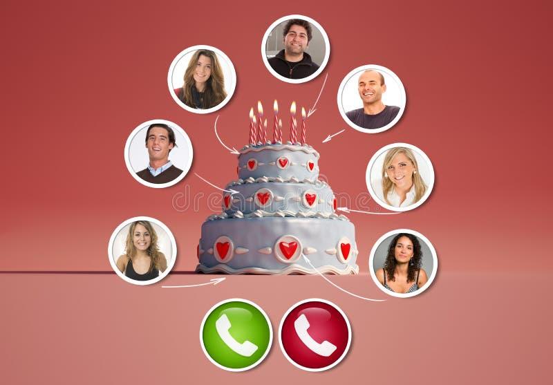 Incredible Virtual Birthday Celebration Stock Photo Image Of Quarantine Funny Birthday Cards Online Barepcheapnameinfo