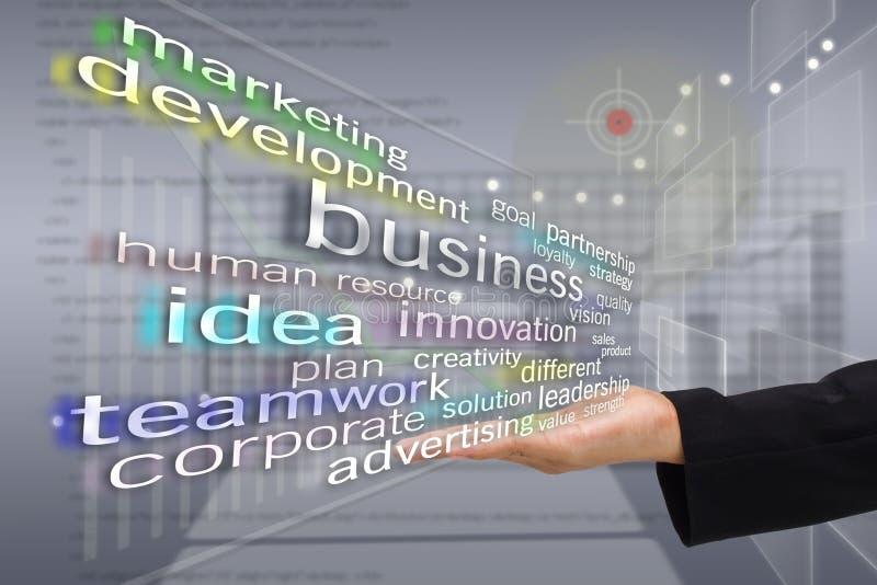 Virtual business stock photos