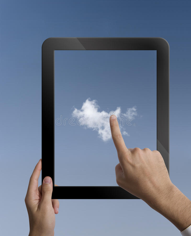 Download Virtual Cloud Computing Concept Stock Image - Image: 27810319