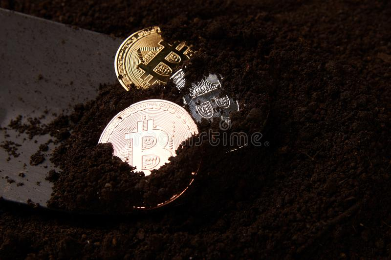 Virtual cryptocurrency mining concept close up stock image image download virtual cryptocurrency mining concept close up stock image image of banking ccuart Image collections