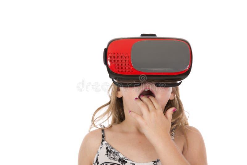 Virtual Fun in Reality stock photos