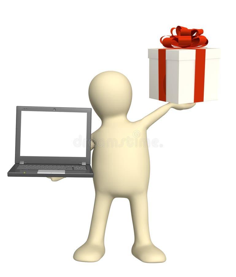 Download Virtual gift stock image. Image of effortless, people - 12820093