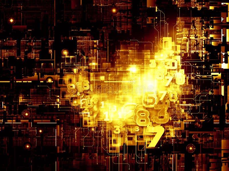 Download Virtual Life Of Digital Network Stock Image - Image: 26658247
