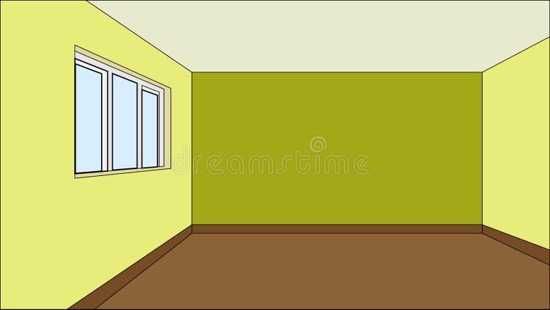 Download Virtual model room stock vector. Image of dimensions - 16161433