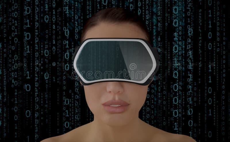 Virtual Reality Concept. stock illustration