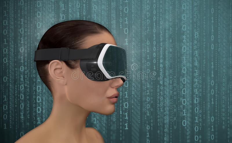 Virtual Reality Concept. vector illustration