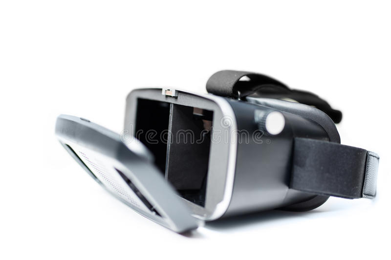 Virtual reality VR glasses royalty free stock images