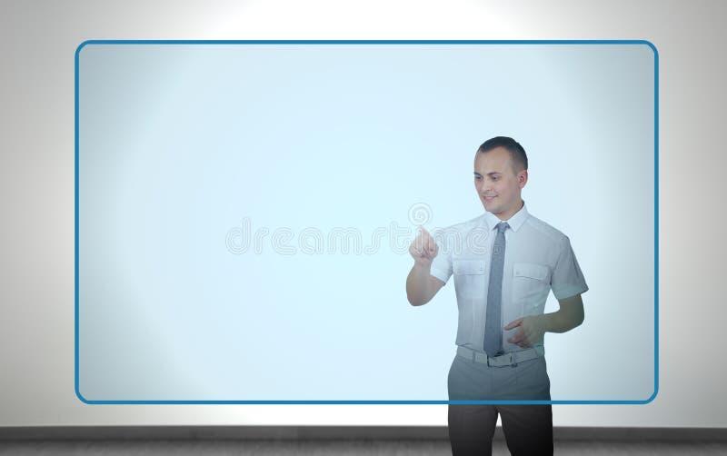 Virtual Screen Stock Photography