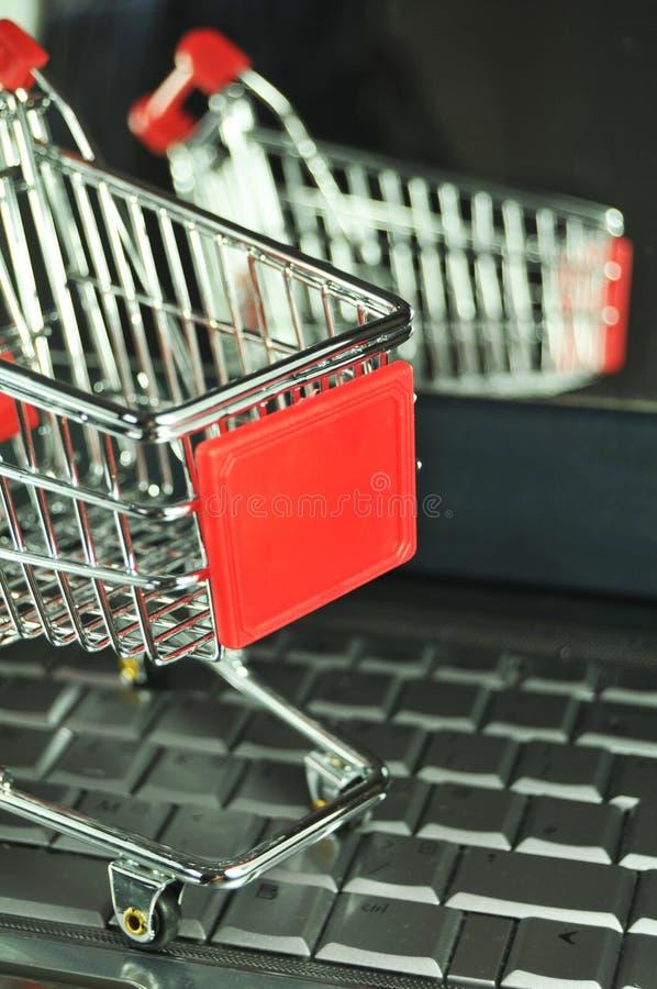 Virtual Supermarket Stock Images