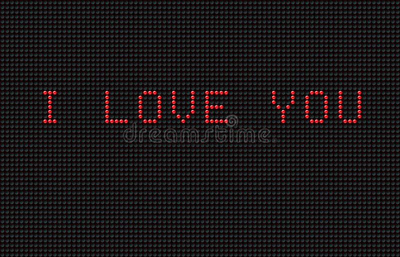 Virtual Valentine Royalty Free Stock Photography