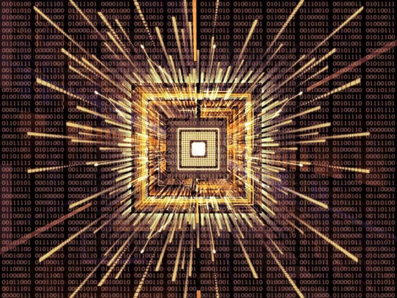 Virtualizzazione del CPU royalty illustrazione gratis
