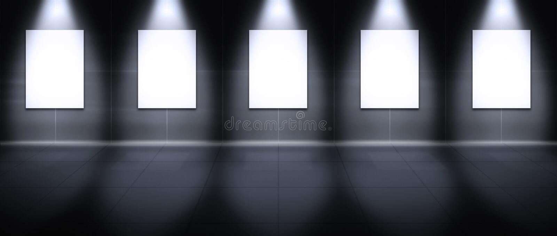 Virtueel Album - Portret vector illustratie