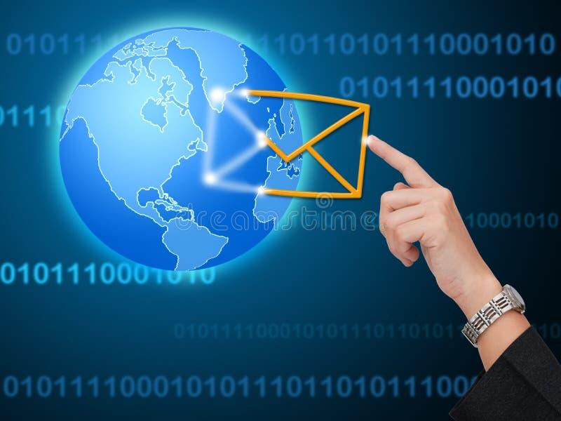 Virtueel communicatie concept vector illustratie
