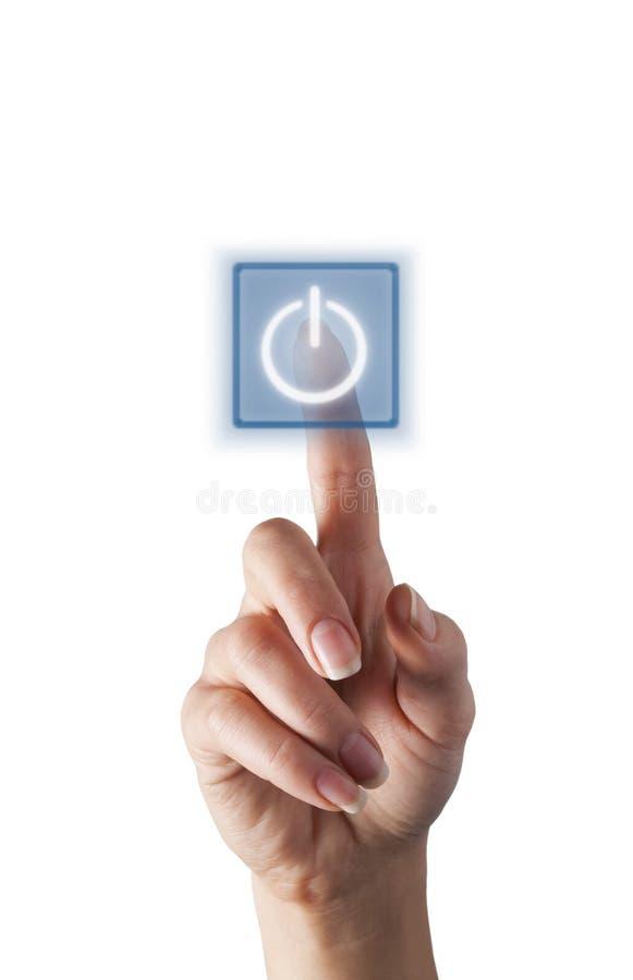 Virtuele knoop stock afbeelding