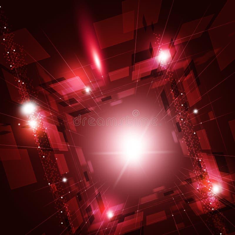 Virtuele technologie abstracte achtergrond vector illustratie