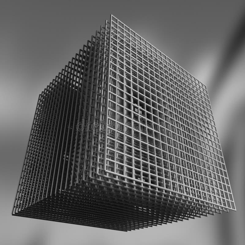 Virtuelle Architektur vektor abbildung