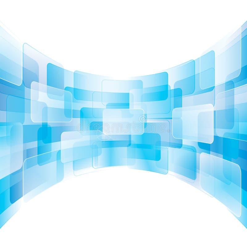 Virtueller Bildschirm lizenzfreie abbildung