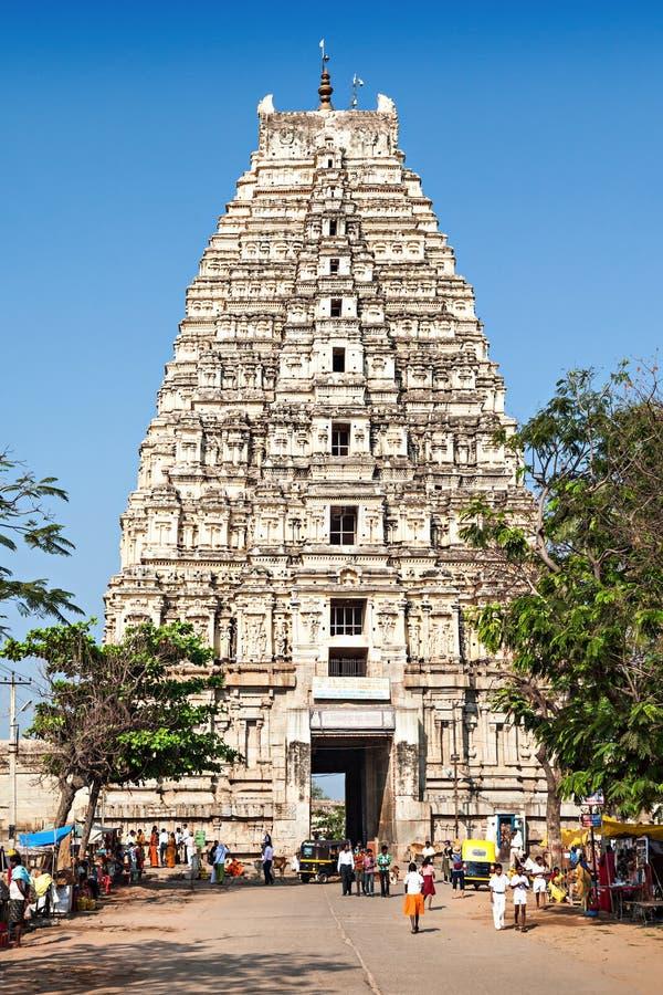 Virupaksha Tempel lizenzfreies stockbild