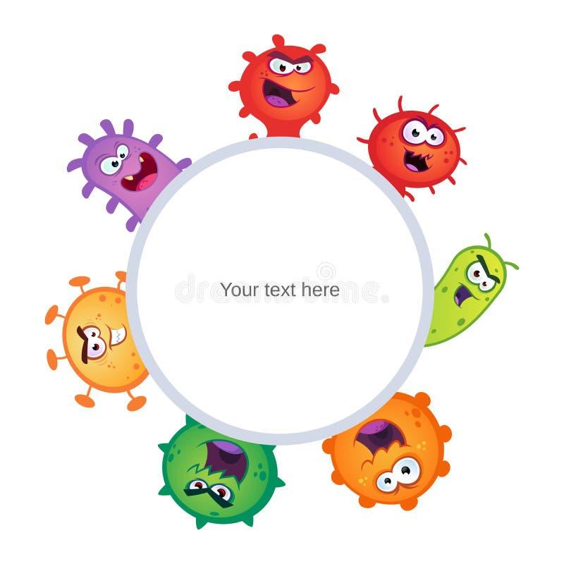virus illustration de vecteur