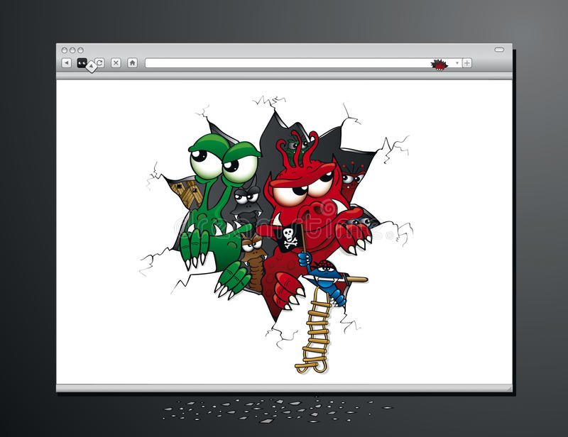 Virus Attack on your Internet browser