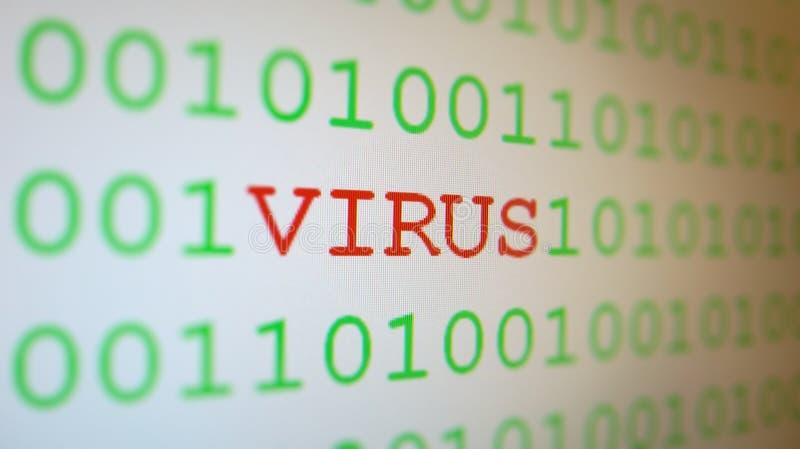 Virus on binary code