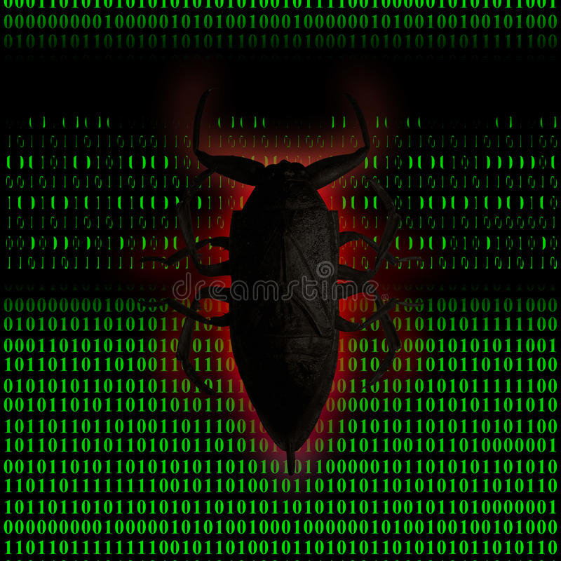 Virus computer stock illustration