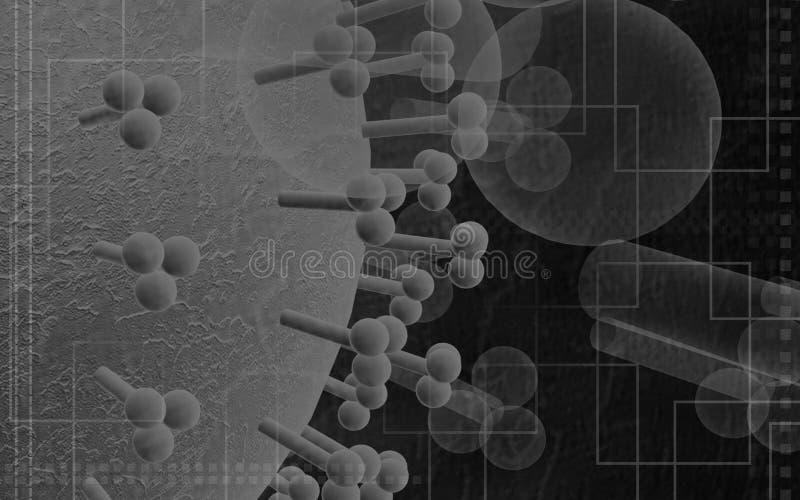 Virus de grippe illustration de vecteur