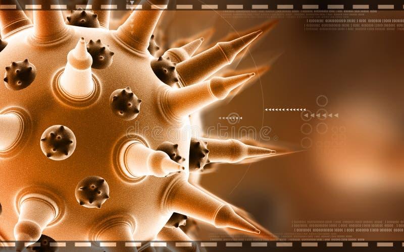 Virus de la gripe imagen de archivo libre de regalías