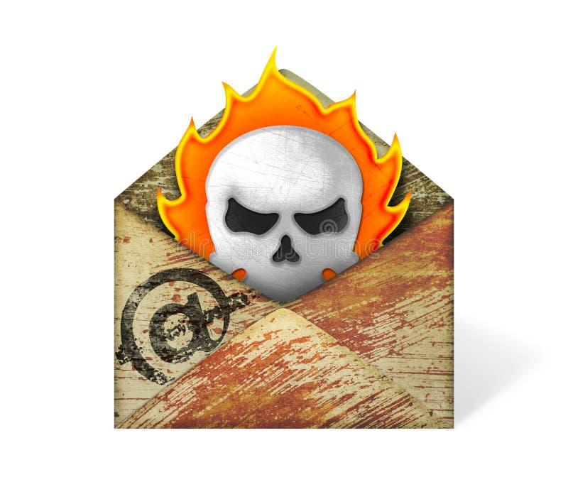 Virus del email libre illustration