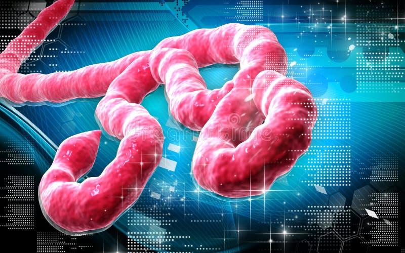 Virus Ebola illustration de vecteur