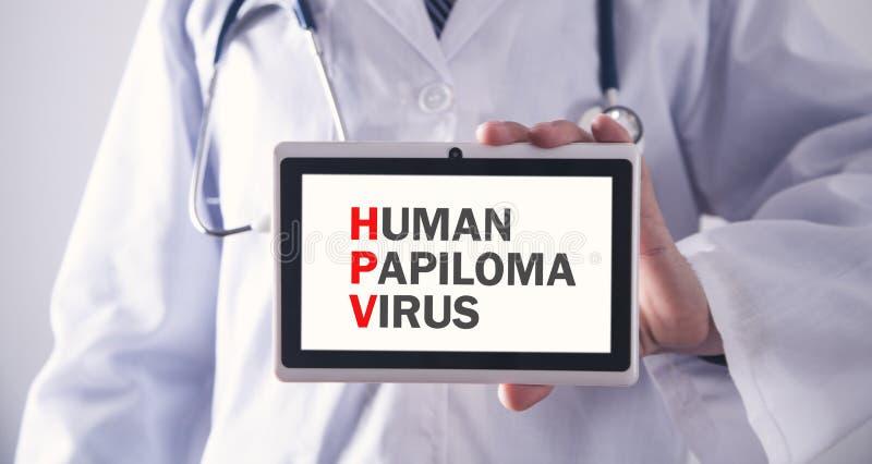 Virus humain de Papiloma HPV image libre de droits
