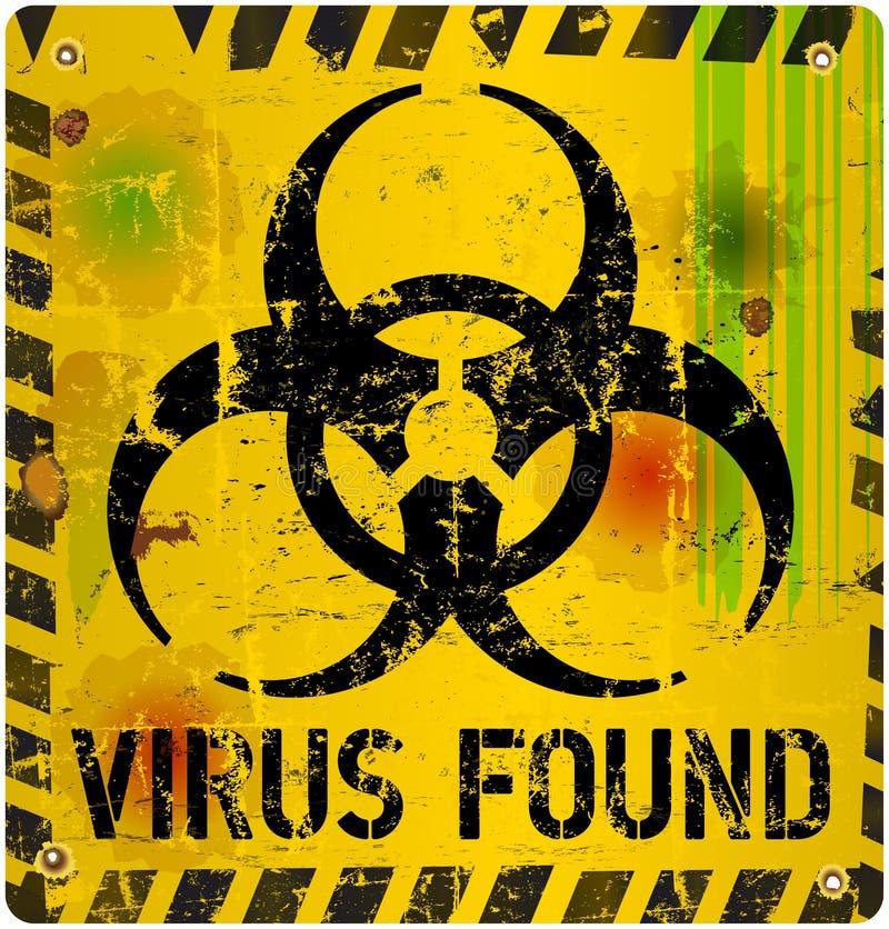 Virus informatique illustration stock