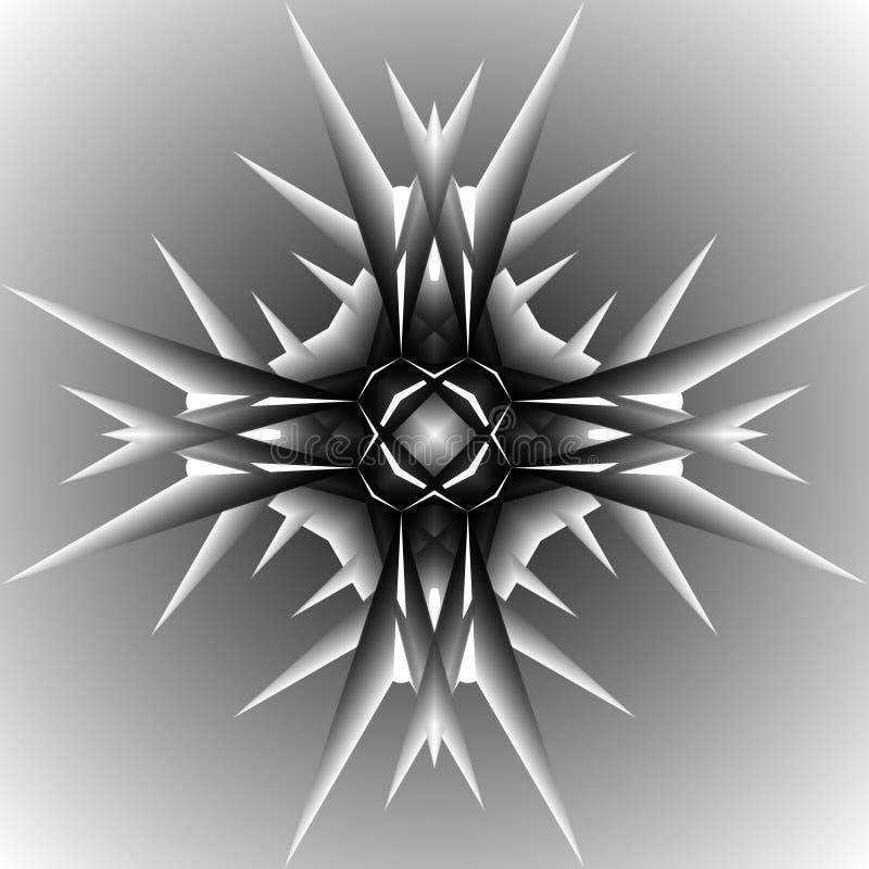 Virus malo ilustración del vector