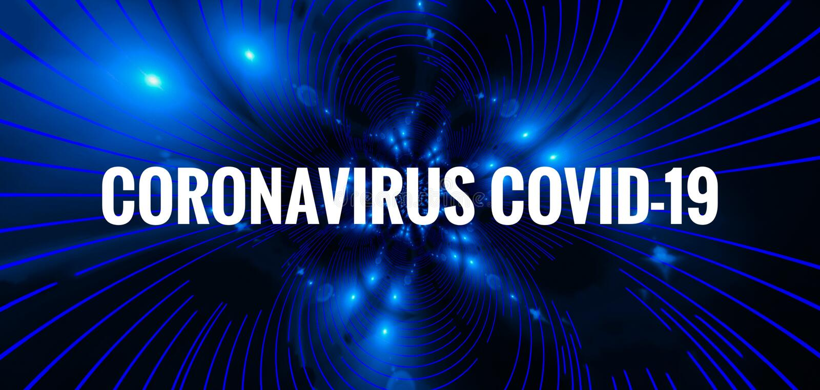Virus Outbreak Covid-19 Header Background royalty free stock photo