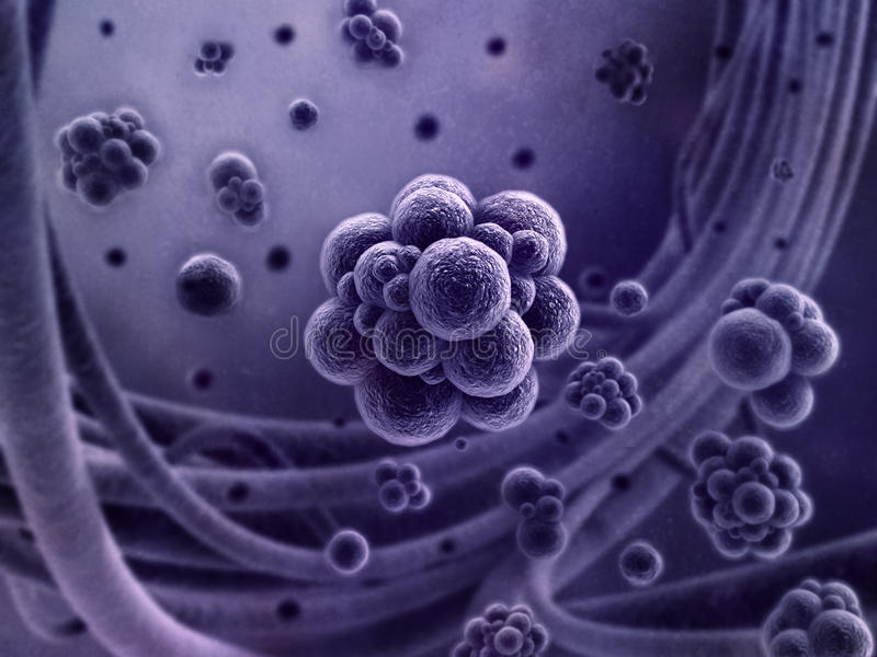 Virus SEM concept royalty free stock photo