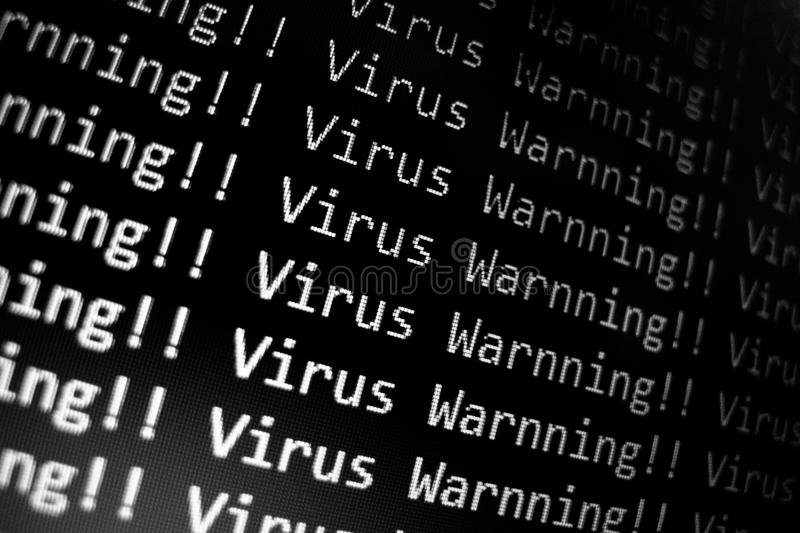 Download Virus Warning Stock Images - Image: 33228214