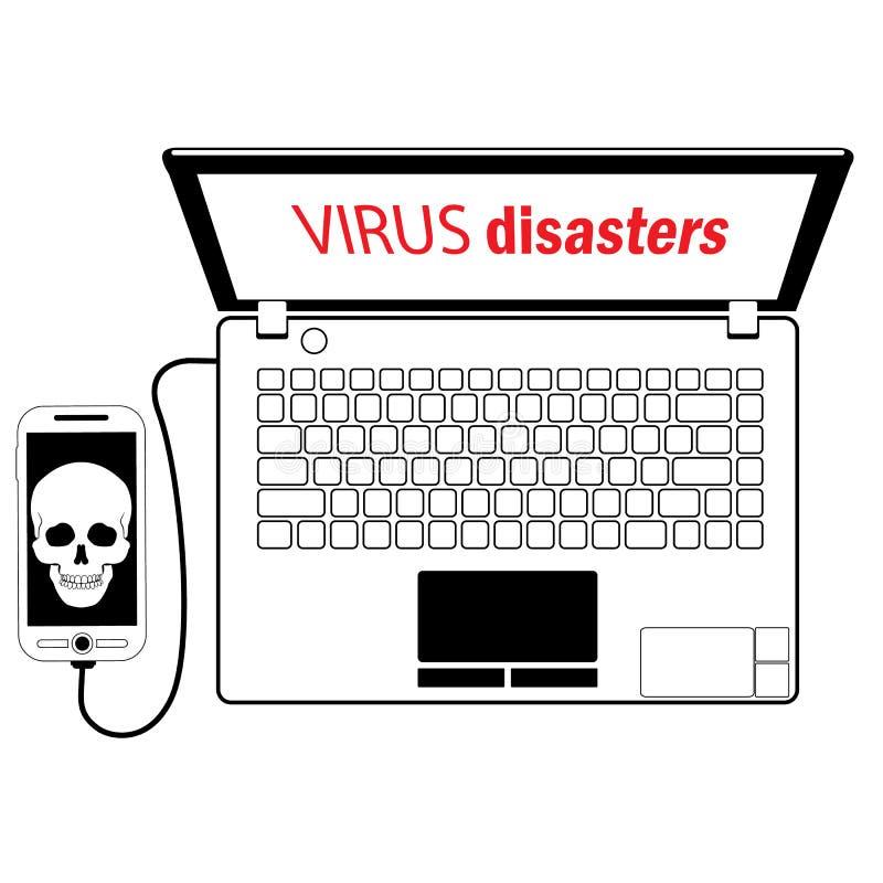 Virusmobile бесплатная иллюстрация