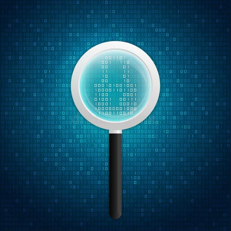 Virusscan stock abbildung