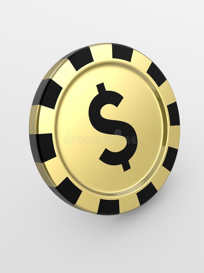 Viruta de oro del casino libre illustration
