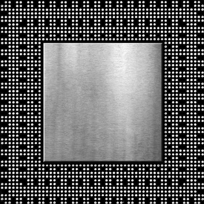 Viruta de procesador ilustración del vector