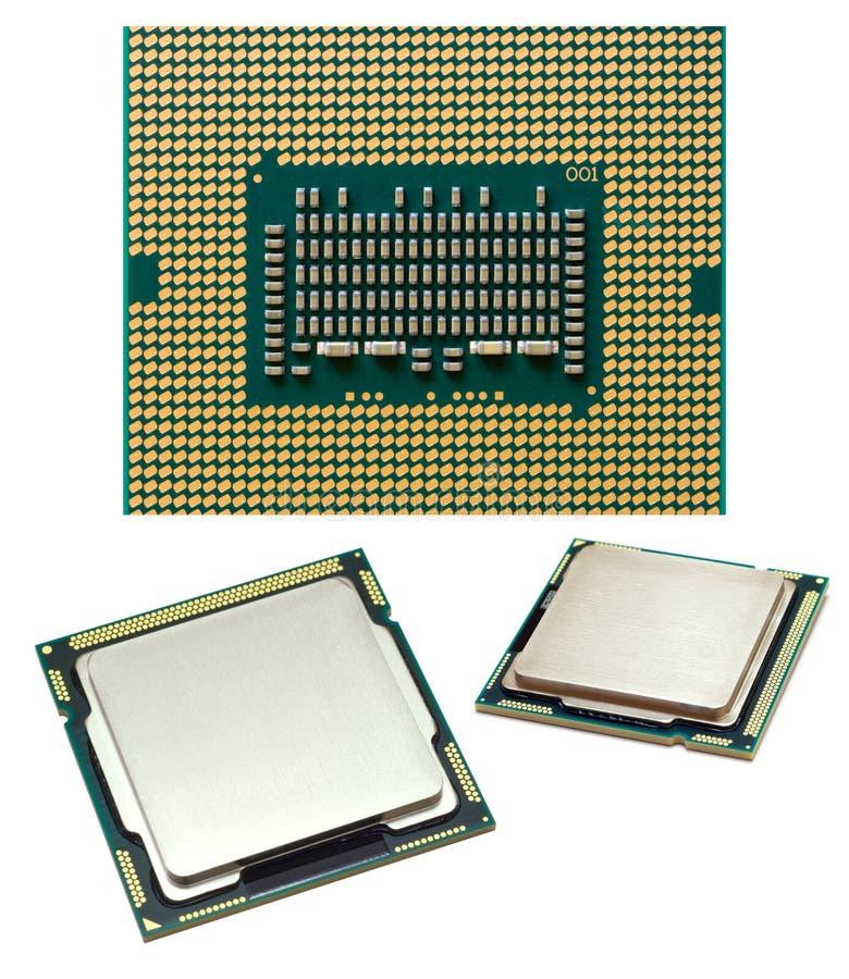Viruta de procesador imagen de archivo