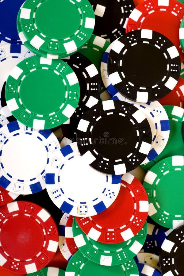 Virutas del casino foto de archivo