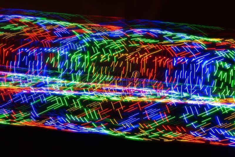 Virvlar av färger arkivfoto