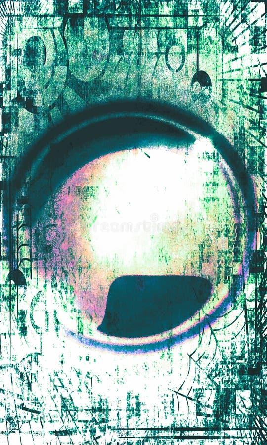 Visão abstrata foto de stock