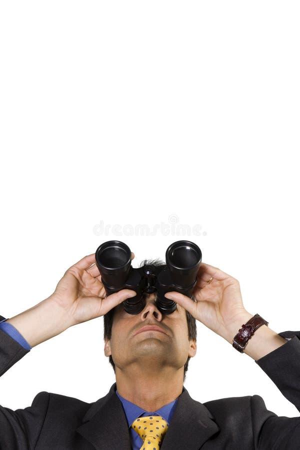 Visão do negócio foto de stock