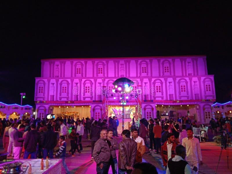 Visão do Partido em Kanpur Nagar UP Índia imagens de stock royalty free